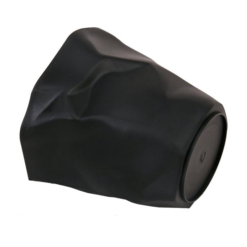 Pot-de-Porte-crayons-Plastique-noir-de-bureau-Y9O2-U7