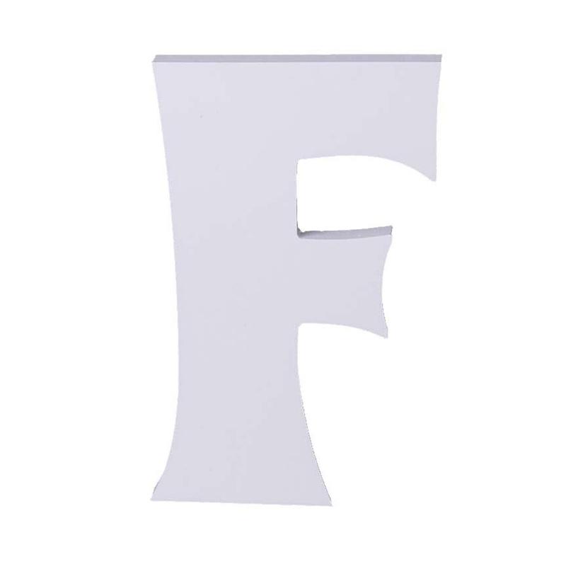 Carta En Forma De Alfabeto Letra F Para Fiesta Cumpleanos Boda Decoracion M5k1 Ebay
