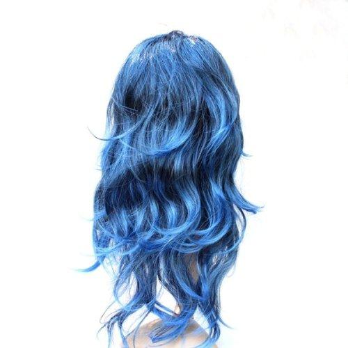 1X(parrucca Parrucche riccio riccioli lungo capelli Festa di cosplay acconci  HK. 1X(Materiale  fibre sintetiche. Tipo  lunghi capelli ricci. Colore   scuro 04e78ab247a