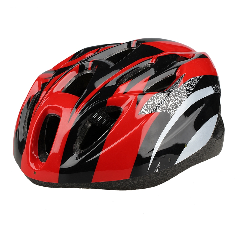 4XBike Cycling Bicycle Helmet Protection Adjustable Color Red C8G1