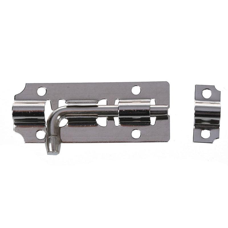 5pzs Pestillo de perno de barril cerradura de acero inoxidable para puerta  E2D7