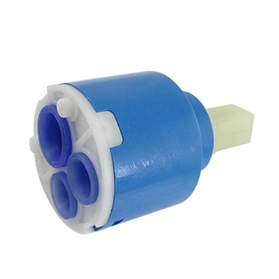 faucet water tap faucets ceramic cartridge valve blue ad. Black Bedroom Furniture Sets. Home Design Ideas