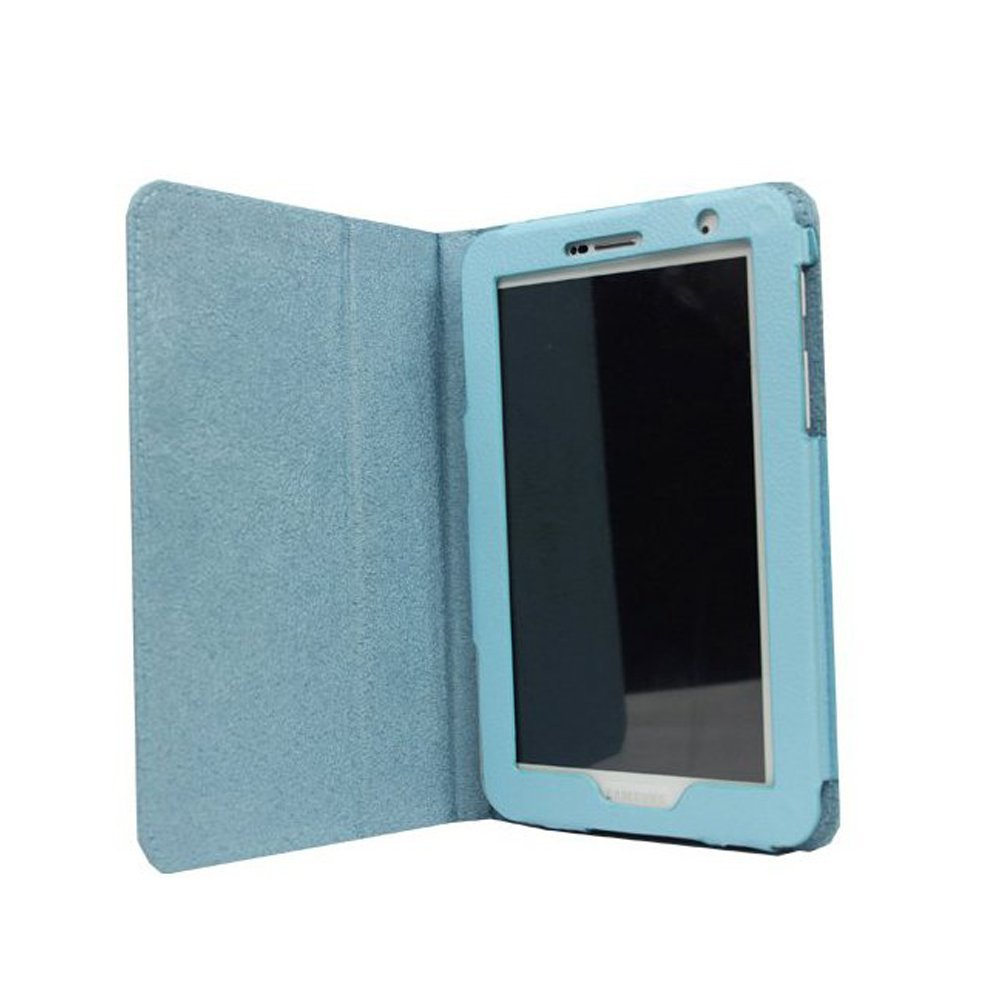 Leather Case for 7-Inch for Samsung Galaxy Tab 2 P3100/P3110 blue Z9S2