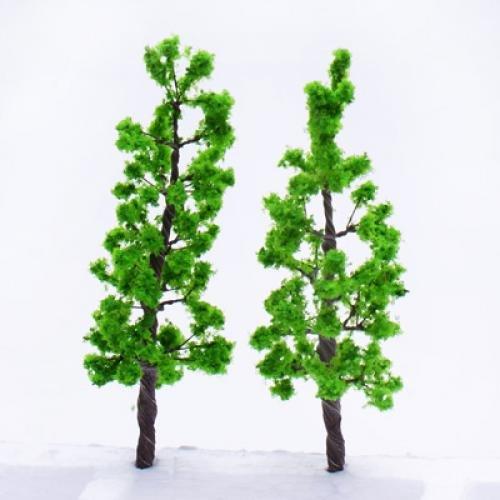16X Pinie OO O Skala Modell Pflanzen Plastik Baeume Baum GY W7F8 Abenteuer
