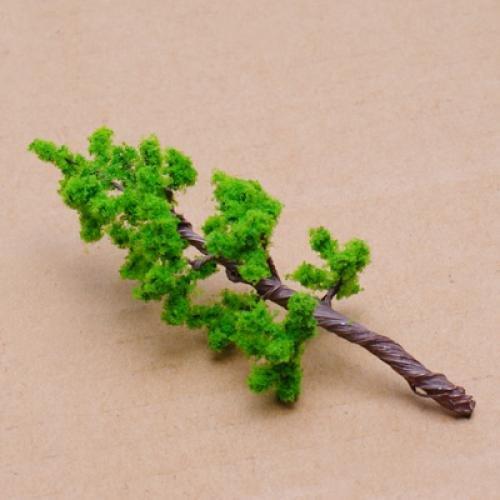 16X Pinie OO O Skala Modell Pflanzen Plastik Baeume Baum GY W7F8 Dschungel