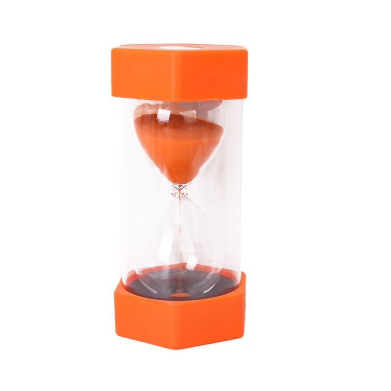 15X(Security Fashion Hourglass 10 Minuten Orange D1Y4)