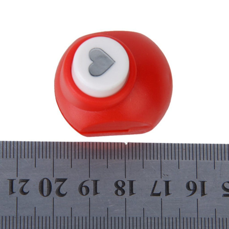 Mini-Paper-Punch-Scrapbooking-Craft-Heart-Shape-Random-Color-P3C2