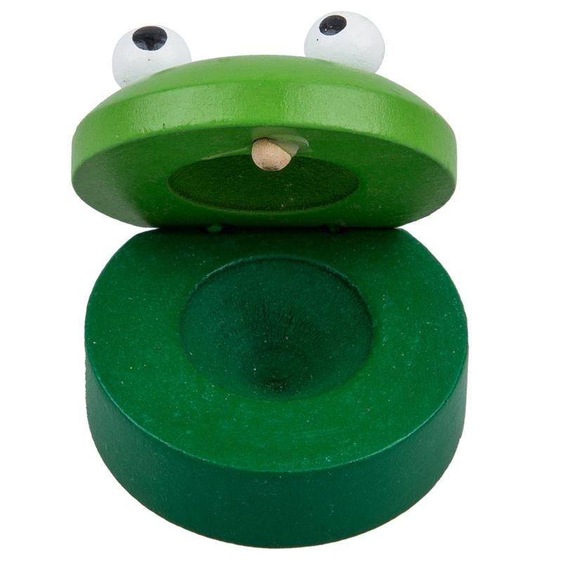 Baby Holz-Tier-Run Castanet Musikinstrumentspielzeug Y2A3 H3G1 4X Holzspielzeug