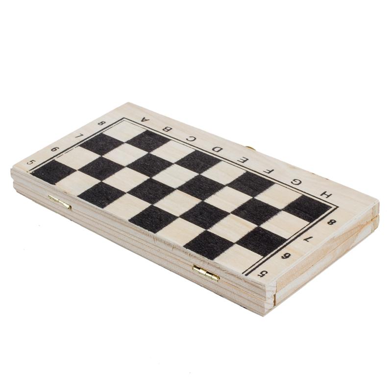 Tablero-de-ajedrez-madera-plegable-con-cerradura-y-bisagras-Piezas-marfil-S5W3