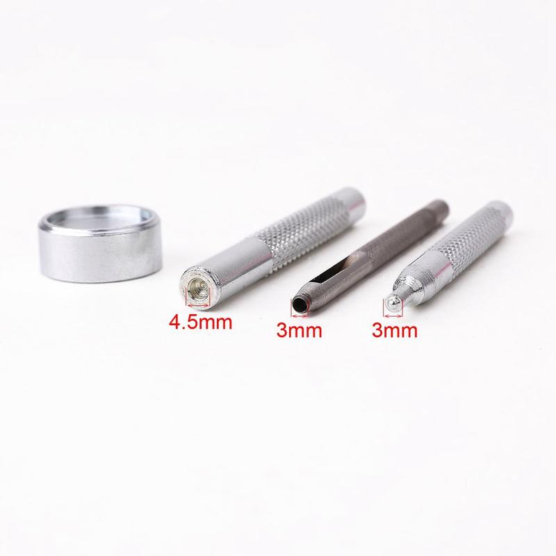 30 Stueck 10mm Metalldruckknopf + Werkzeugsatz fuer Lederwarenleder G6K5 RU