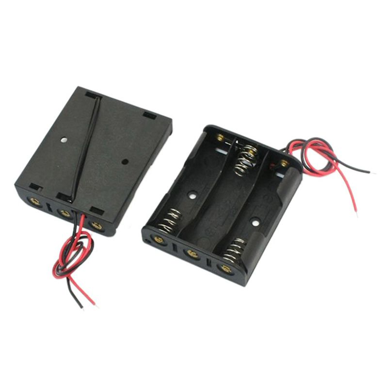 5 Stuecke federbelastet Kunststoff 3 x 1.5V AA Batteriehalter Box ...