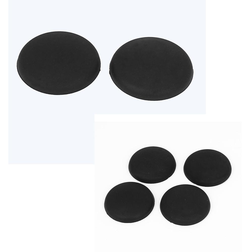 schwarz gummi selbstklebend wand wache tuergriff stossstange stopper schutz z7z3 ebay. Black Bedroom Furniture Sets. Home Design Ideas
