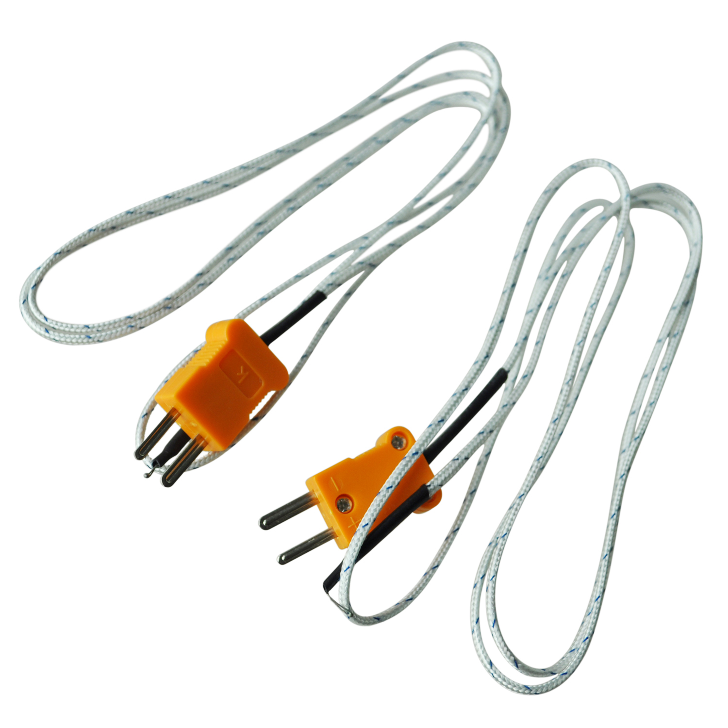 Two Wire Thermocouple : Pcs k type c wire lead measuring thermocouple sensor