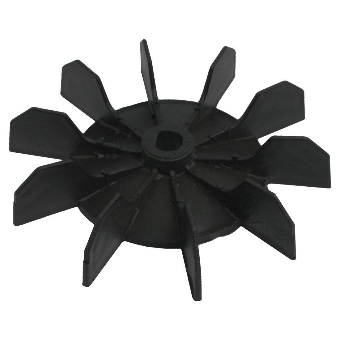 Compressed Air Blades : Inner bore impeller air compressor motor fan blade black ts