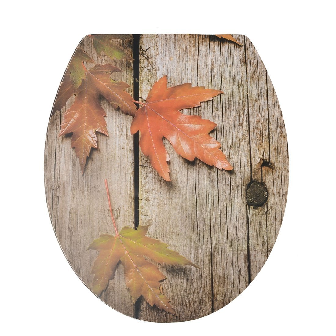 Decorative Maple Leaf Pattern Toilet Lid Seat Cover Decal Sticker Ts Ebay