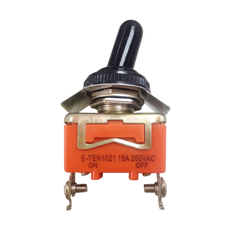 AC 250V 15A ON//OFF//ON Momentary  SPDT Toggle Switch with Waterproof Boot Z3J7