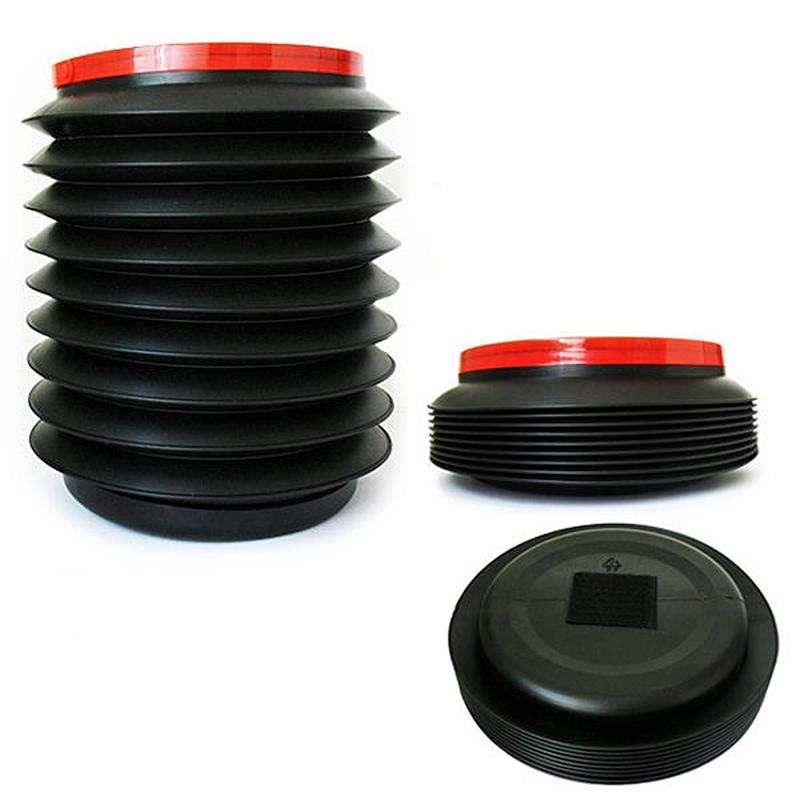 R Noir Plastique pliable 4L Eau Recipient Seau botte Organisateur K8O6 SODIAL