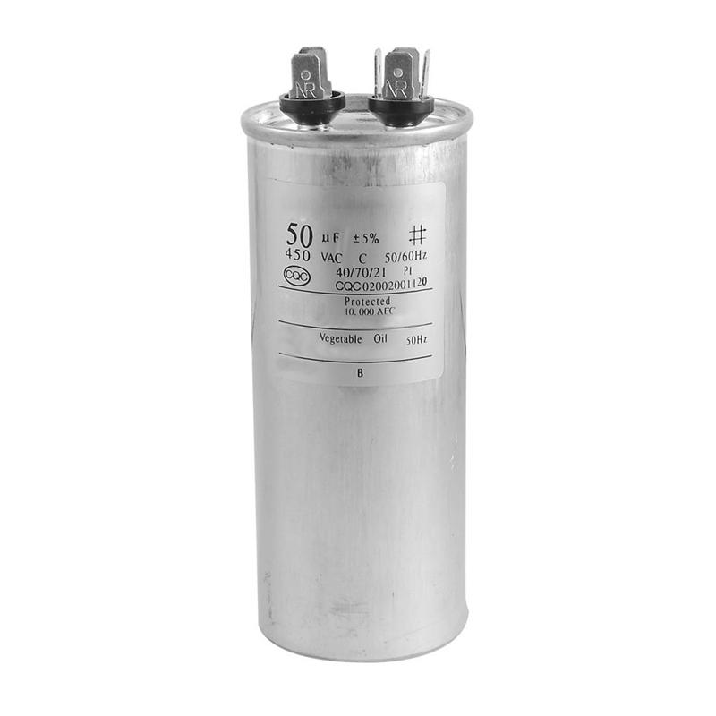 Climatiseur Non Polaire 40uF 450V AC 50 // 60Hz Moteur Condensateur CBB6 5V8 1X