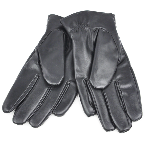 UK Women Thermal Lined Driving Smart Warm Soft Leather Gloves Button Fasten N3