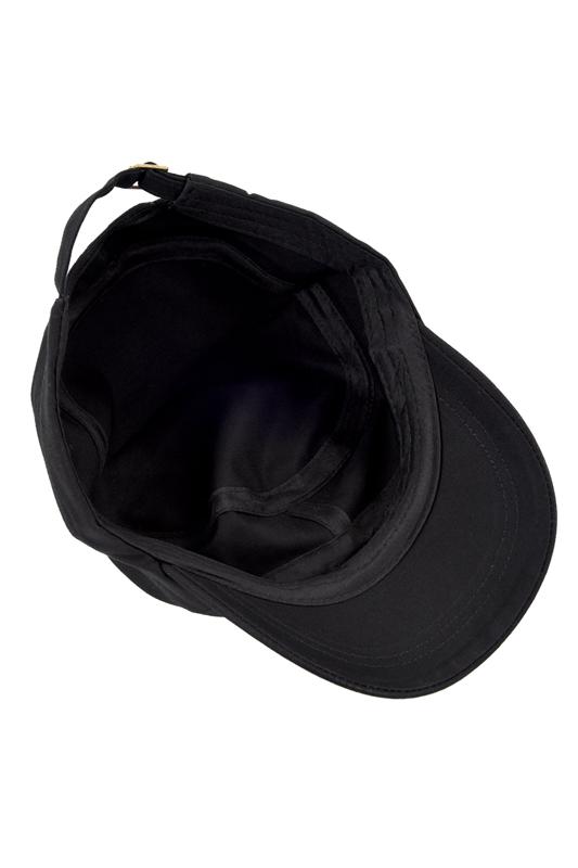 1X(Cappello nero cappello militare Berretto da baseball in cotone Uomo   Donna  Questo cappello elegante puo  infatti essere utilizzato tutto l anno ed e   un ... d6d44a75bcea