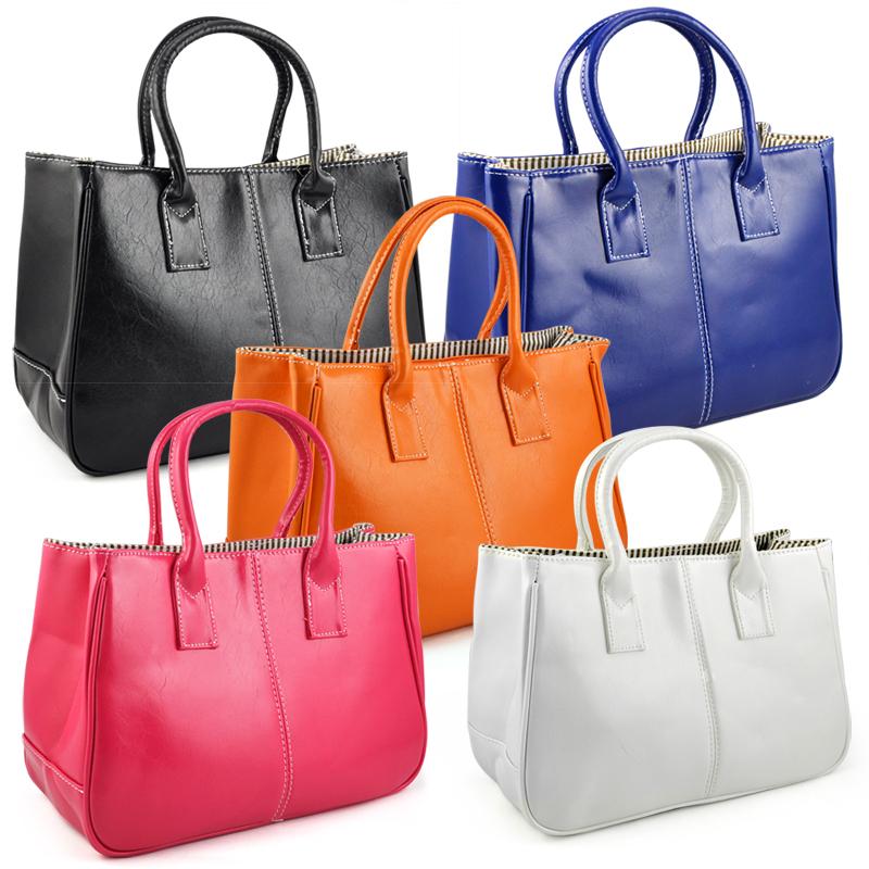 Fashion-Woman-Ladies-Class-PU-Leather-Satchels-Tote-Purse-Bag-Handbag-G2X9 thumbnail 3