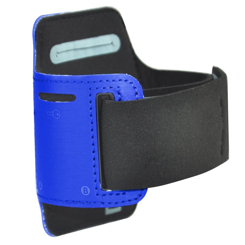 Sport-curir-Brassard-Housse-pour-Apple-iPod-Nano-7-amp-Stockage-de-cles-SC miniature 2
