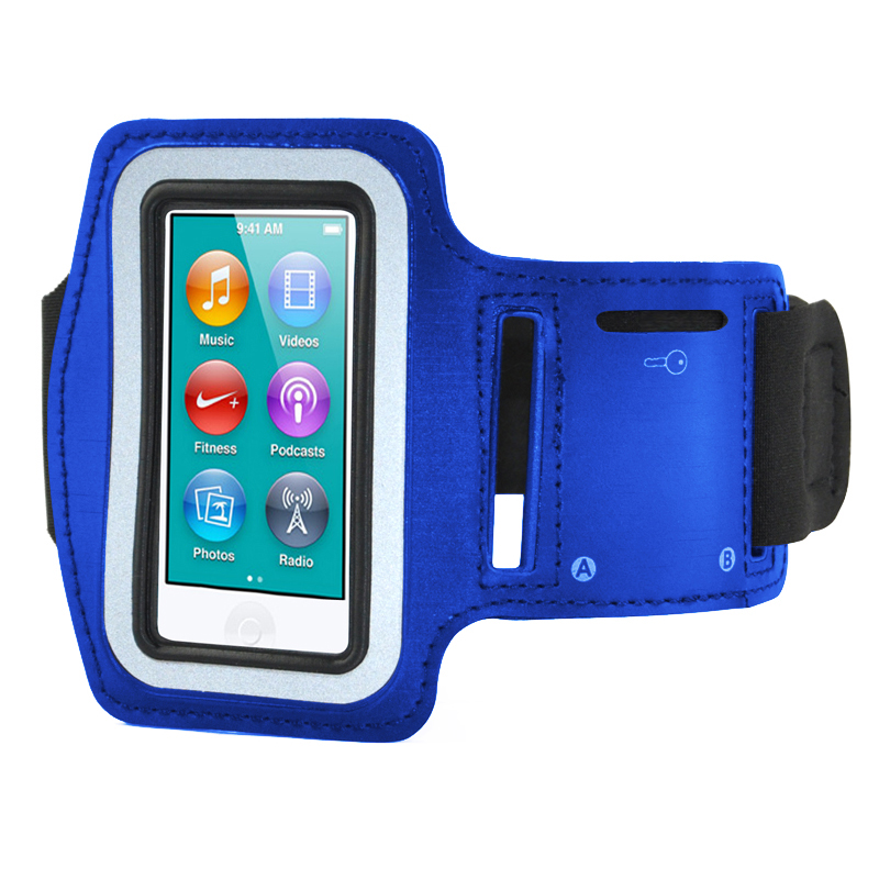 Sports Running Arm Band Pouch Case for Apple iPod Nano 7 & Key Storage Z8P3