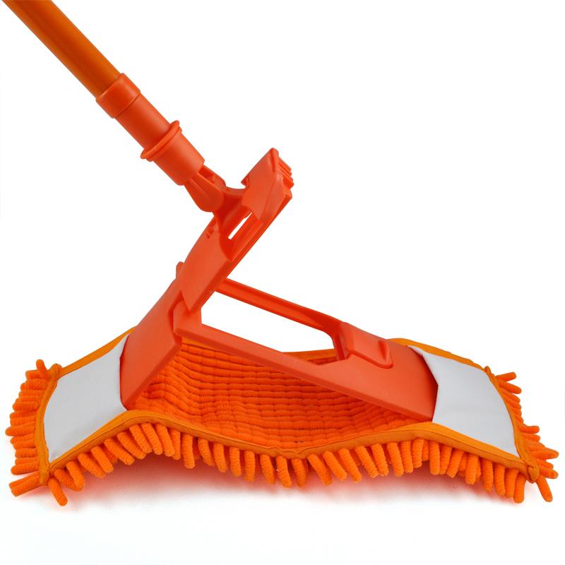 NEW-Extendable-minifibre-Mop-Cleaner-Sweeper-Wooden-Laminate-Tile-Floor-WetT9A2 thumbnail 8