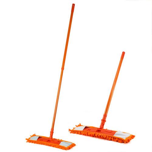 NEW-Extendable-minifibre-Mop-Cleaner-Sweeper-Wooden-Laminate-Tile-Floor-WetT9A2 thumbnail 9