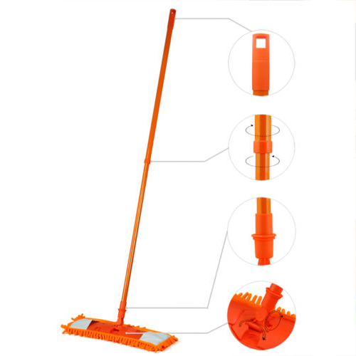 NEW-Extendable-minifibre-Mop-Cleaner-Sweeper-Wooden-Laminate-Tile-Floor-WetT9A2 thumbnail 10