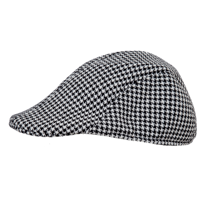 Walking or shooting in style with this traditional flat cap. The outside  has a tweed herringbone 100% cotton design. The peak ... d959300e545
