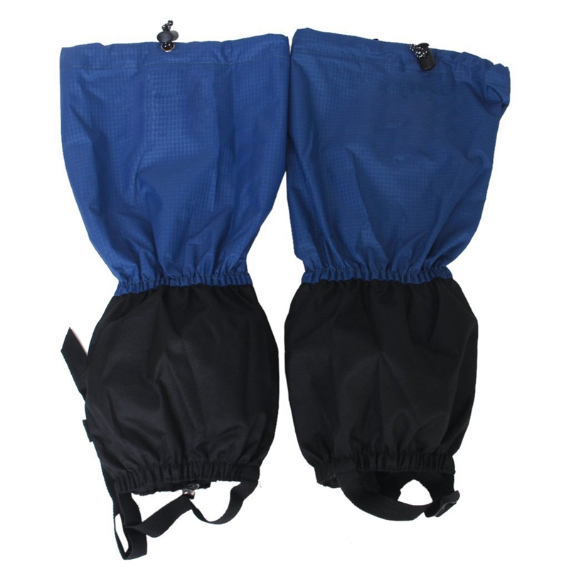 20X(1 pair of Waterproof Leg Guards with Zip Closure for Hiking Climbing. R8A4)