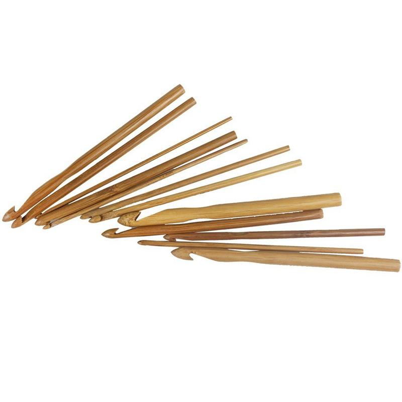 12-sizes-crochet-hooks-3-0-10mm-bamboo-knitting-needles-Q3H6 thumbnail 2