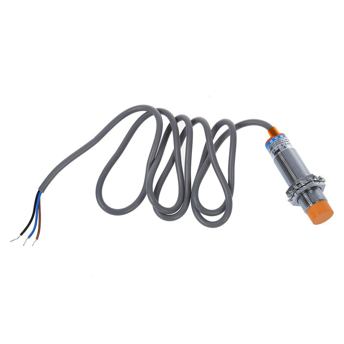 LJ18A3-8-Z// BX 8mm Rungssensor Induktive Naeherungsschalter NPN DC 6-36V CD