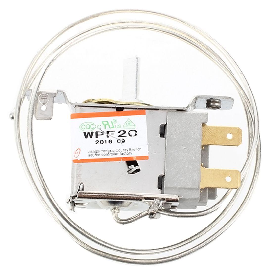 ac 220v 6a 2 pin freezer refrigerator thermostat wpf 22 de ebay