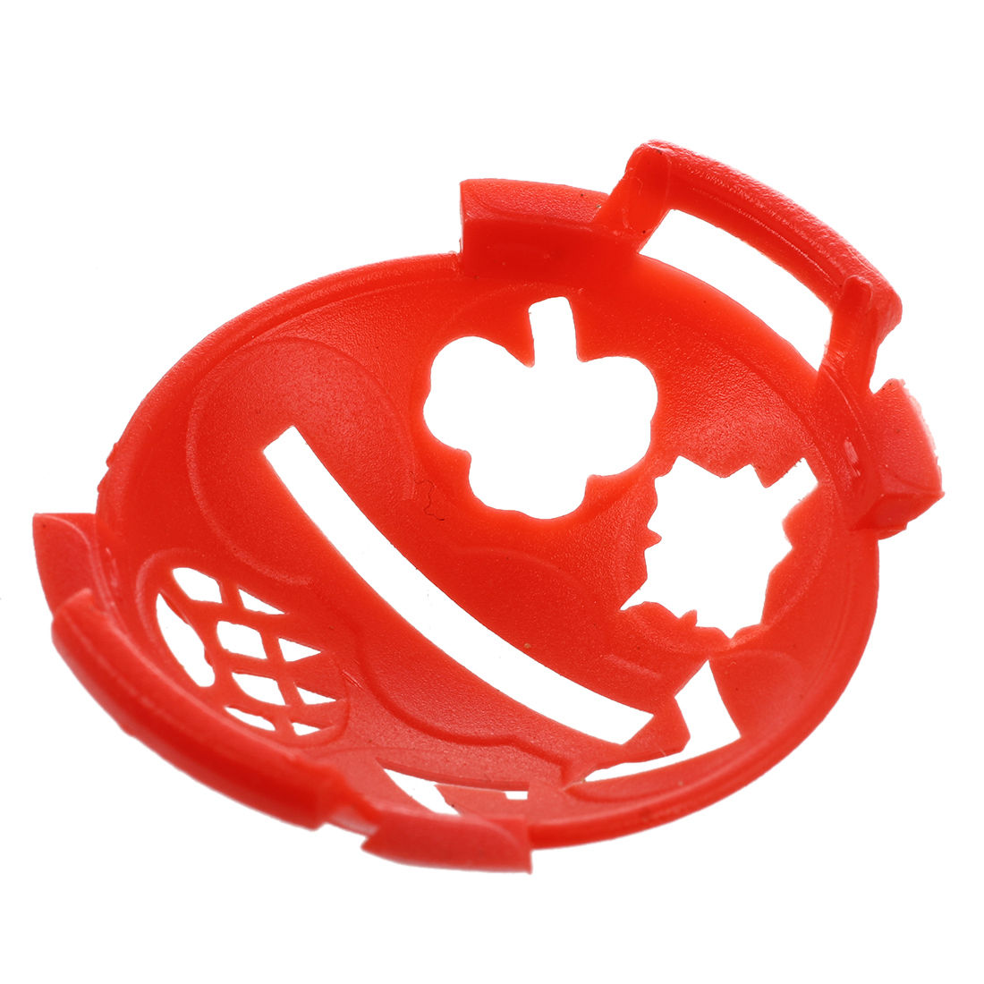 1 X Golf Ball Marker Base With Different Templates Red And Black