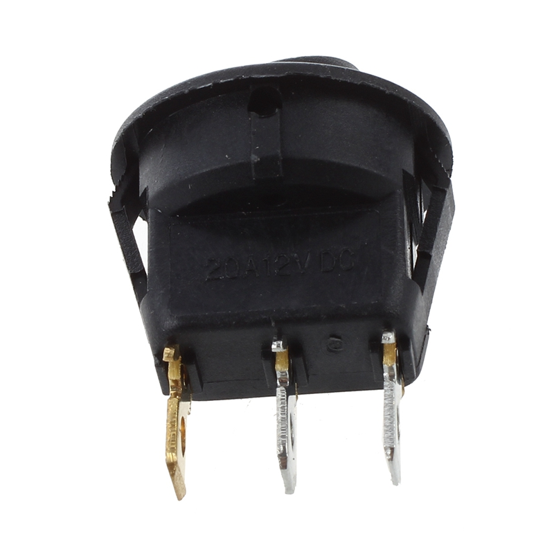 thumbnail 12 - 12V-LED-Inverter-Rocking-Rocker-Switch-ROUND-SPST-ON-OFF-for-BOAT-Car-Q4I3
