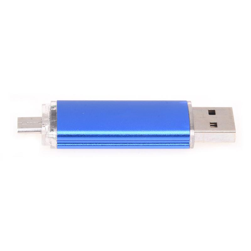 Memoria-32GB-USB-Unidad-OTG-mini-USB-Unidad-de-flash-para-ordenador-portat-V1B miniatura 5