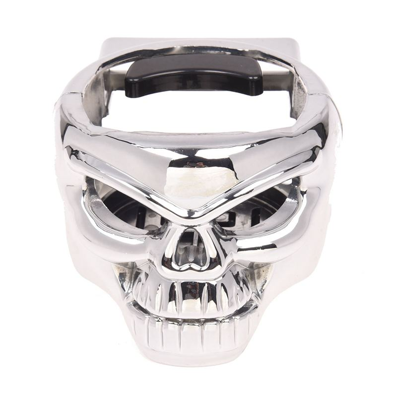 Skull Car Auto Vent Mount Cup Drink Can Bottle Holder X7W6