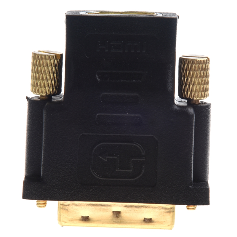New-Gold-Plated-HDMI-Female-to-DVI-D-Male-Video-Adaptor-G6Y1