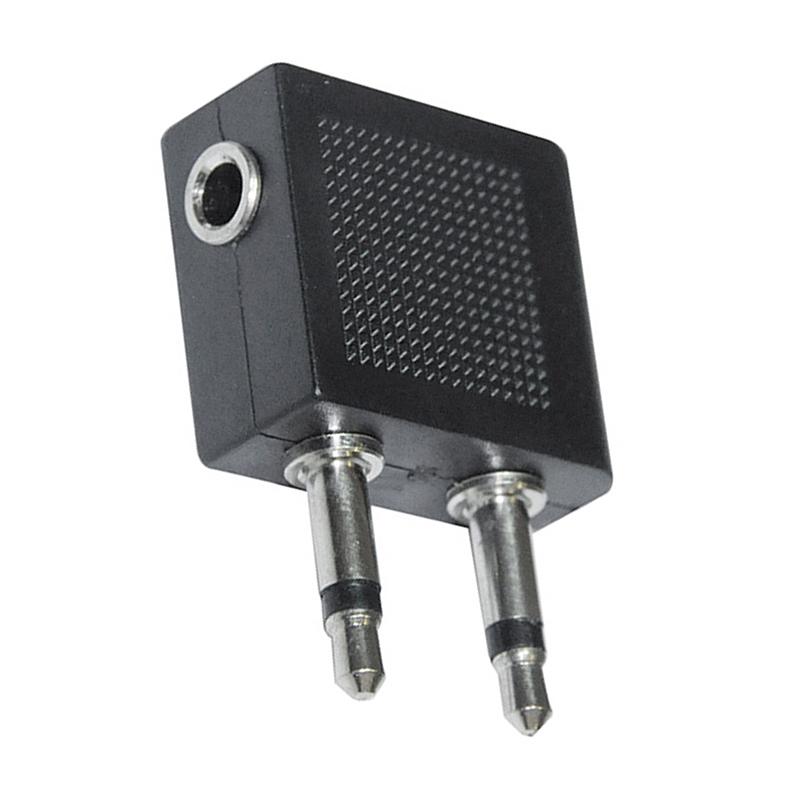Flugzeug Kopfhoereranschluss Adapter Ohrhoerer-Steckdose-Adapter I2N1 X4 J4O3 2x