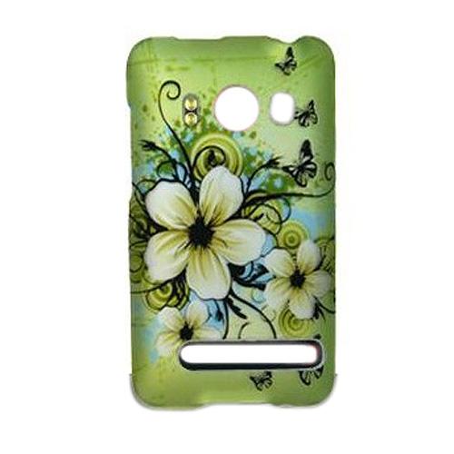 Zum-HTC-Evo-4G-Zubehoer-Gruen-Hibiskus-Hawaii-Blumen-Design-Schutzhuelle-Ha-Z5I2