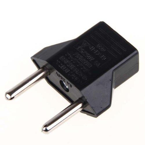5 x USA US zum EU-Stecker Konverter Spielraum Aufladen Einheit Adapter Wechs