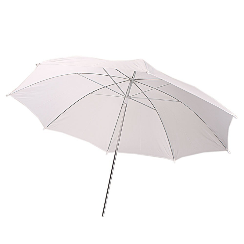 Aimable 33 Inch Parapluie Photographique En Blanc Translucide Pour Flash De Z8e6