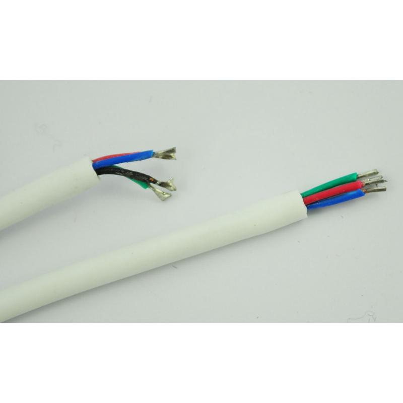 5-x-Cable-de-Conector-4-Pin-Macho-para-Tiras-LED-E5X5