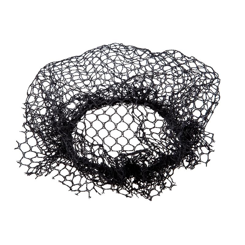 Schwarz  S4B5 5 Stueck Damen Ballett Tanz Elastisches Haarband Haarnetz