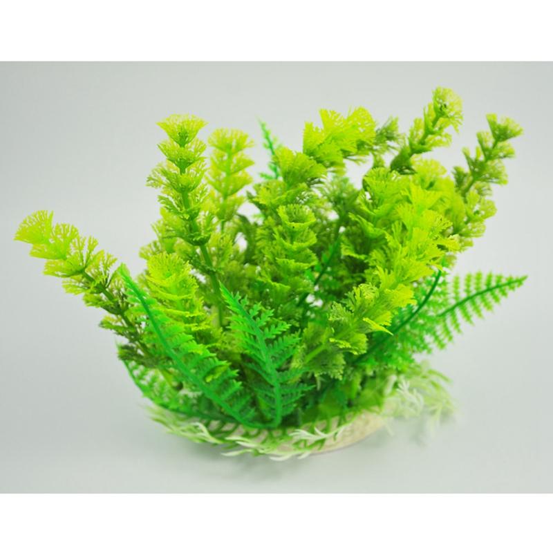 plante d 39 aquarium en plastique herbe verte 6 7 de haute decoration pour aquari ebay. Black Bedroom Furniture Sets. Home Design Ideas
