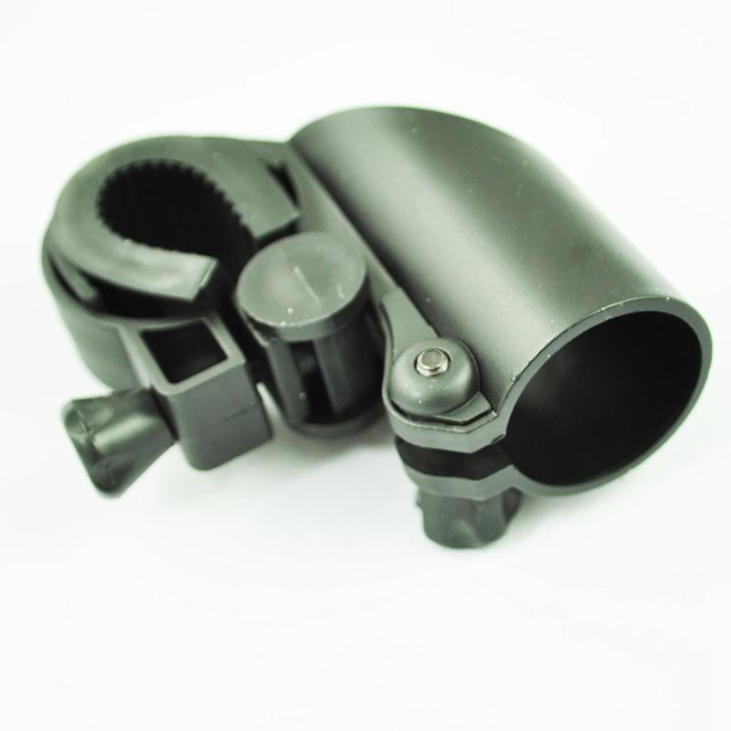 5x schwarz kunststoff led taschenlampe halter halterung. Black Bedroom Furniture Sets. Home Design Ideas