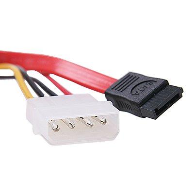 thumbnail 2 - 15+7 Pin SATA Power/Data to 4 pin IDE Power Cable O8P7