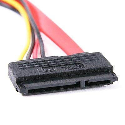 thumbnail 4 - 15+7 Pin SATA Power/Data to 4 pin IDE Power Cable O8P7